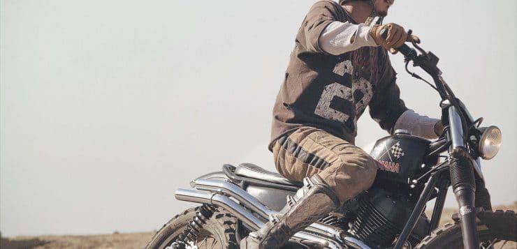 Brat Style Motorcycle