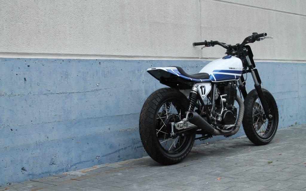 Die Yamaha SR 500 Dirt Track von Loon Cycleworks