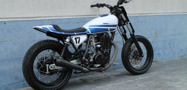 Yamaha Dirt Tracker