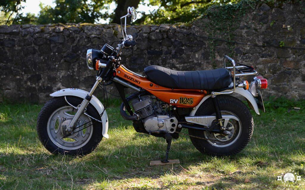 Die Suzuki RV 125 kam 1977 nach Deutschland