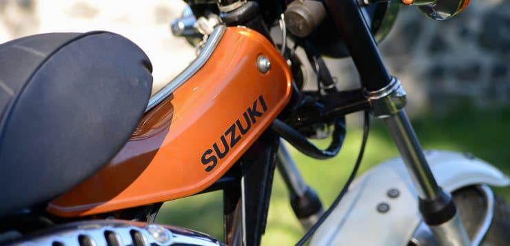 Suzuki RV 125 Van Van