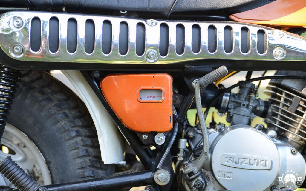 Ölvorrat für die CCI-Schmierung der Suzuki RV 125