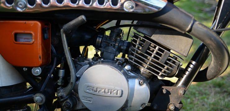 Suzuki RV 125 Motor