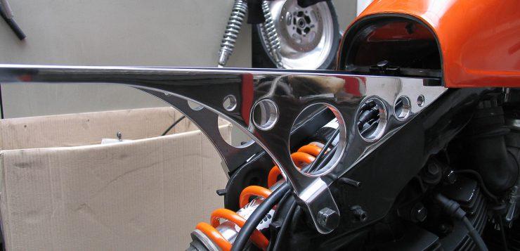 Yamaha XV 750 The Orange Projekt