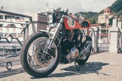 Yamaha XV 750 Orange Projekt