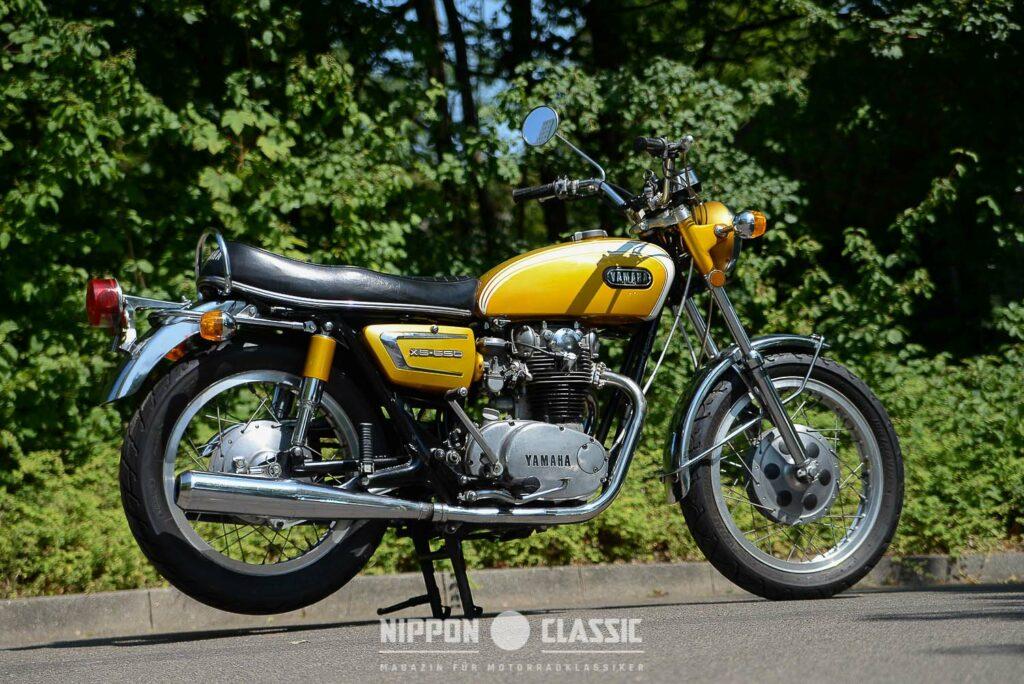 Die Yamaha XS 1 kam nie nach Deutschland