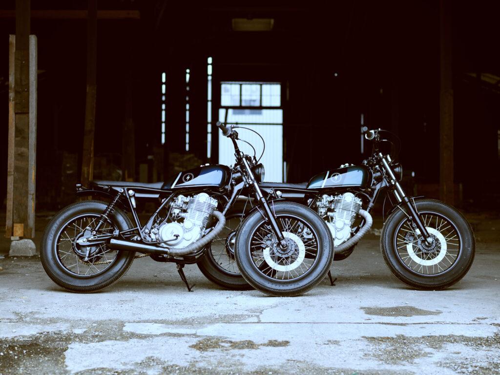 Die Yamaha SR 500 Scrambler-Zwillinge: KRAD XX2 und XX3