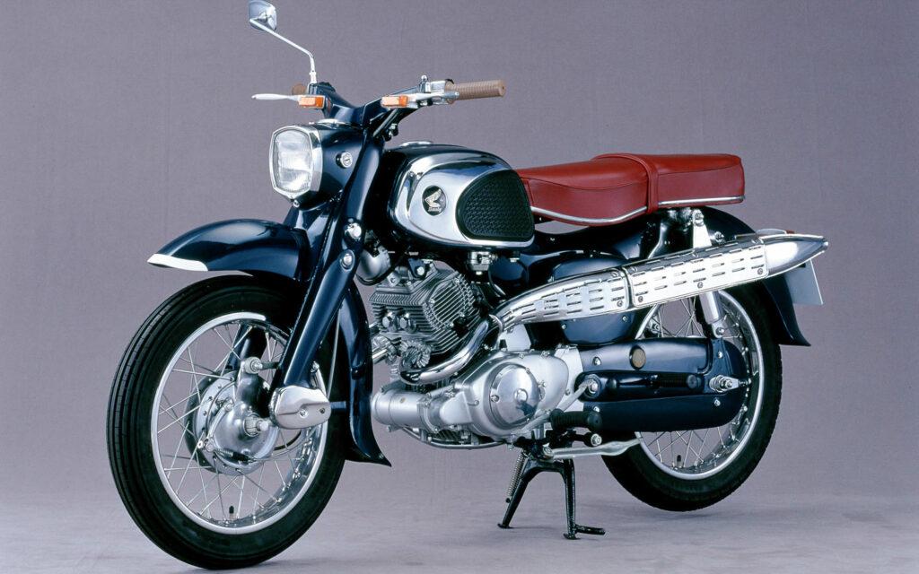 Die Honda CS 92 war die Scrambler-Version mit hochgelegter Auspuffanlage
