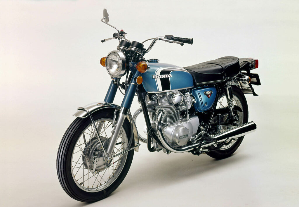 1971 bekam die Honda CB 350 K ein neues Design