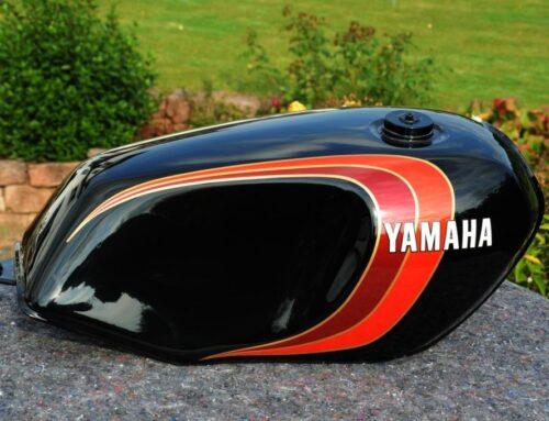 Yamaha RD Farben und Dekore von 1972 bis 1982