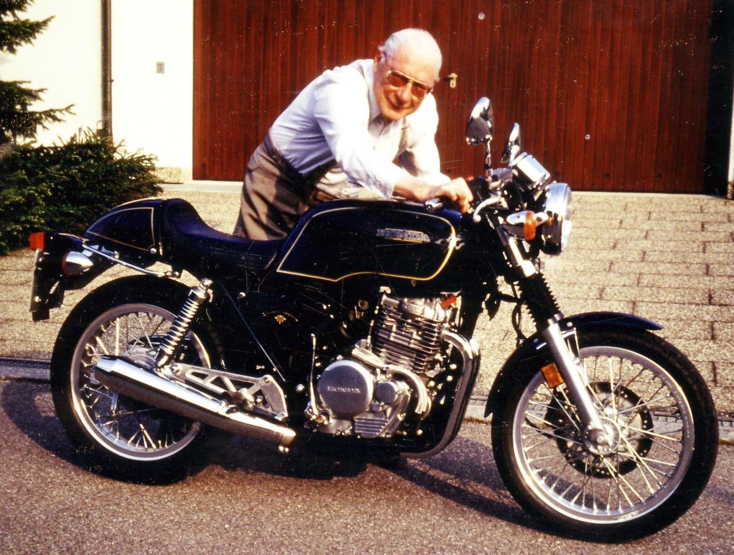 """""""Klacks"""" Honda GB 500 Clubman ist heute in Besitz von Jürgen Kießlich, einem langjährigen Freund von Ernst Leverkus"""