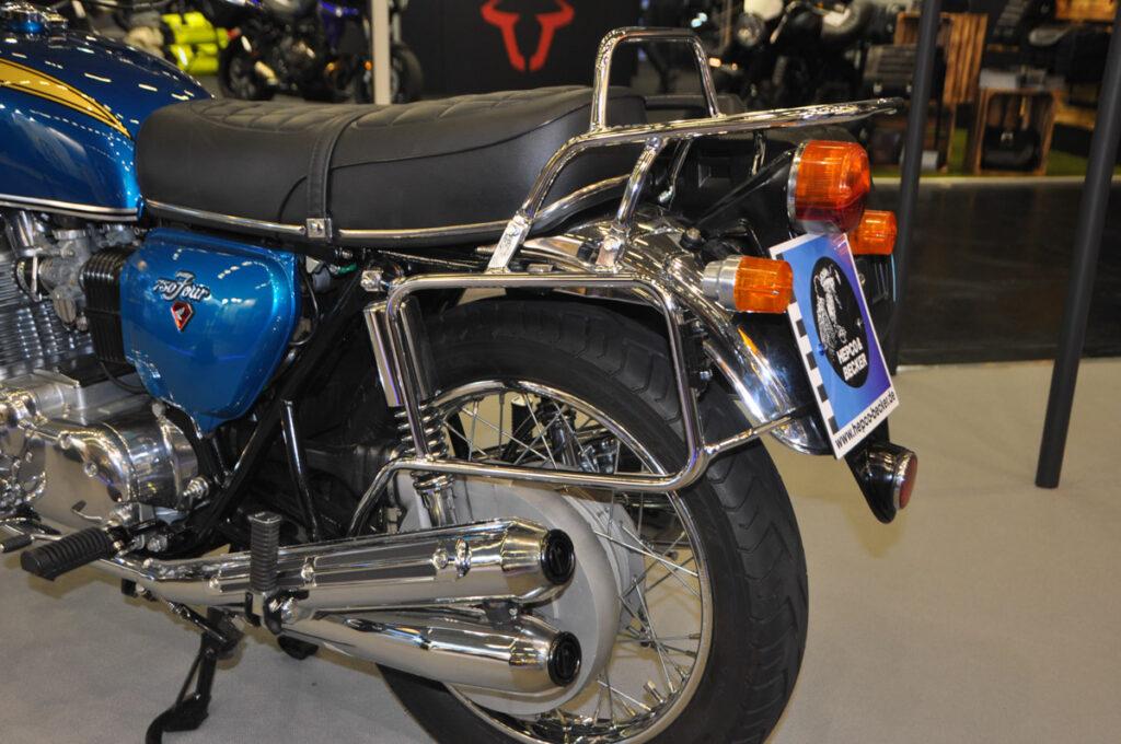 Besonderheit dieser Honda CB750 Four: der geschlossene Kettenkasten