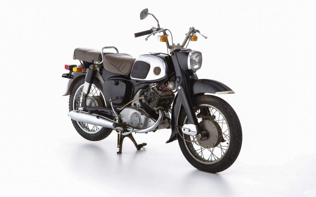 Die Honda C92 debütierte 1959