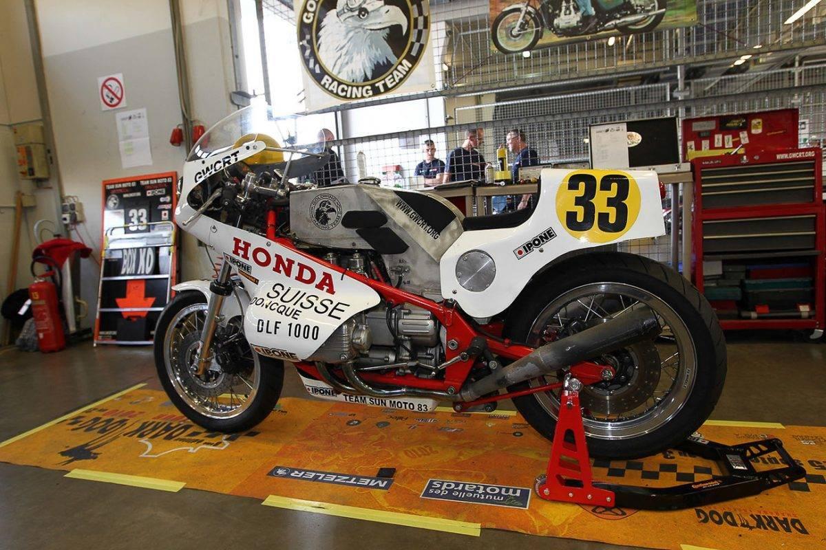 Endurance Goldwing - Honda GL 1000 für Langstreckenrennen
