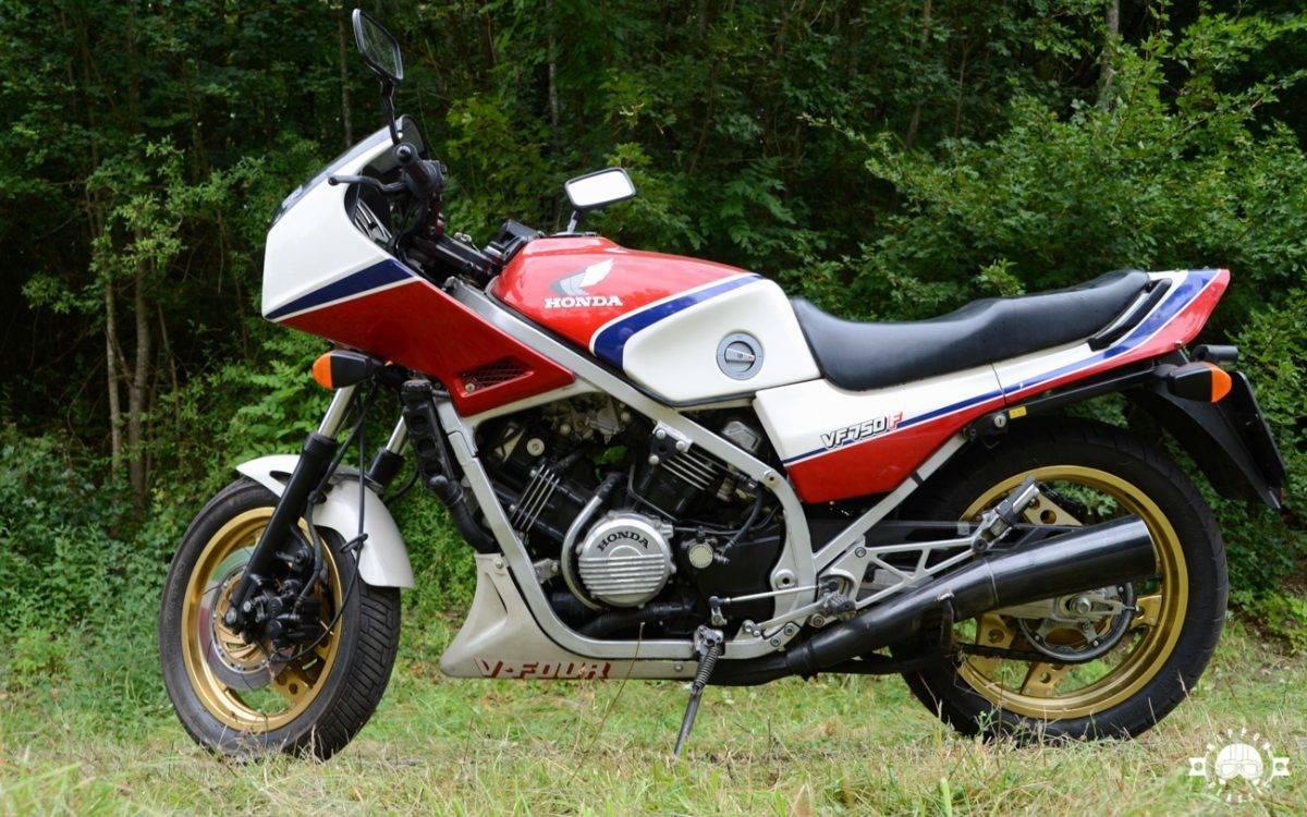 Honda VF 750 F, 1984: фото, характеристики, история | Bike.Net