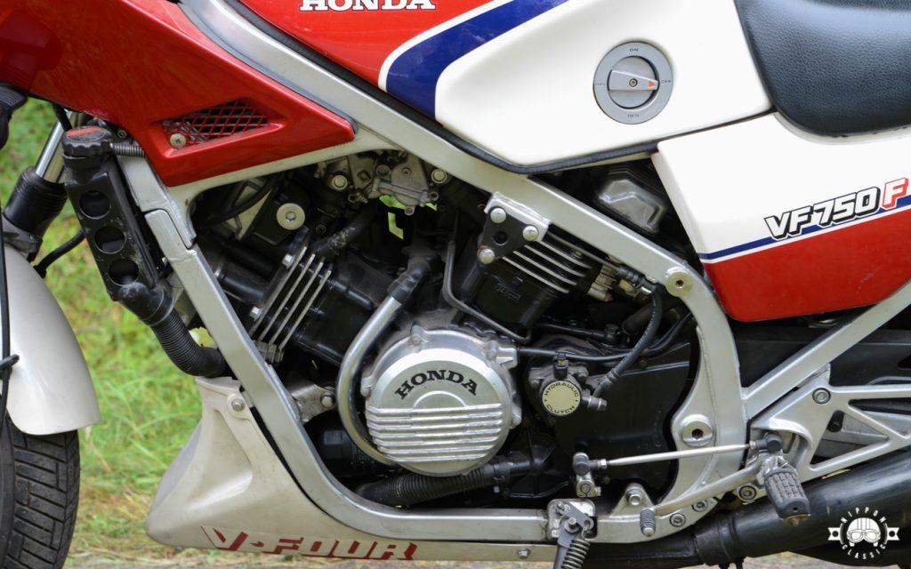 Der V4-Motor der VF 750 F leistete 90 PS