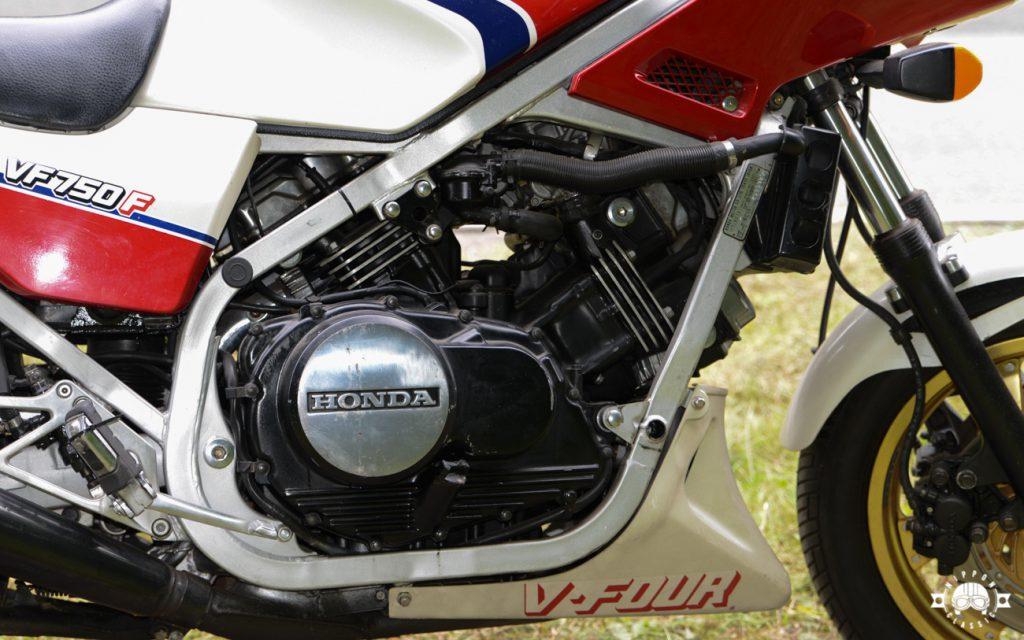 Der 16 Ventiler hatte Probleme mit Zylinderkopf, die erst mit der VFR abgestellt wurden