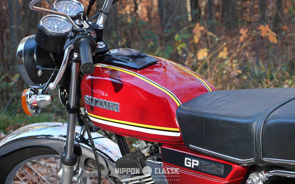 Die Suzuki GP 125