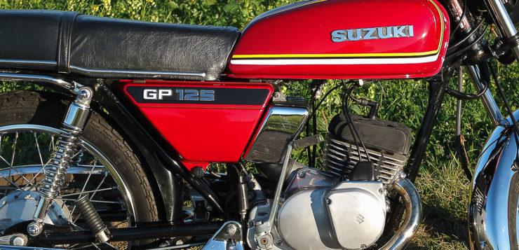 Die GP 125 ist für starke Vibrationen bis in die Fußrasten bekannt