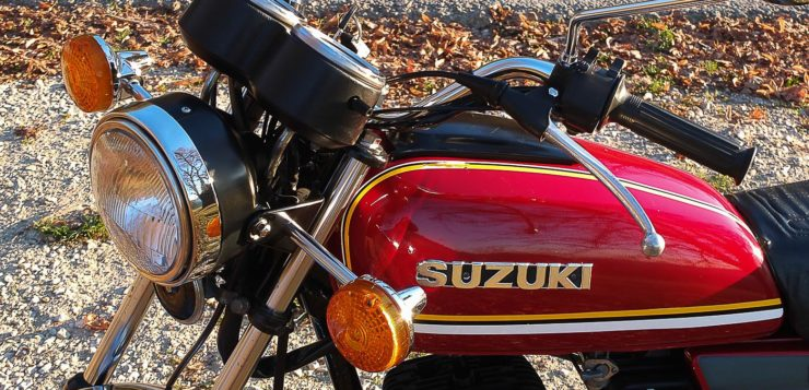 Die Suzuki GP 125 ist sicherlich nicht die schlechteste Wahl bei dern 125ern