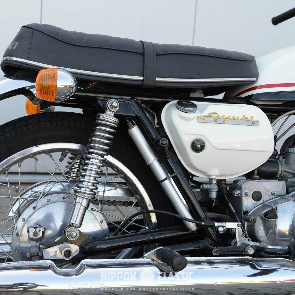 Ganz selten: originale Luftpumpe der Suzuki T 350