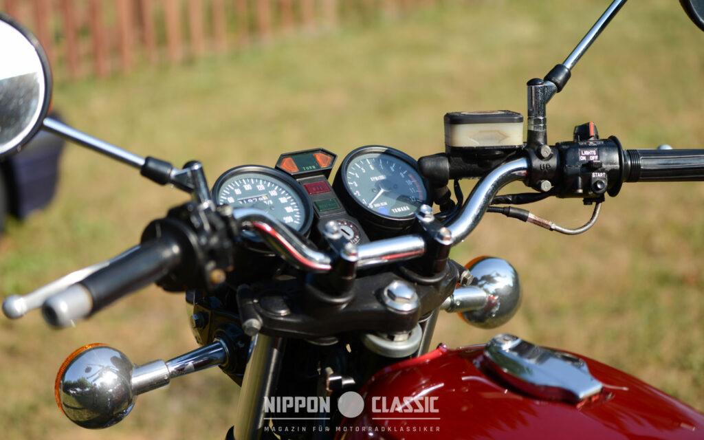Die Yamaha RD wurde in ihrer Entwicklungsgeschichte immer schneller
