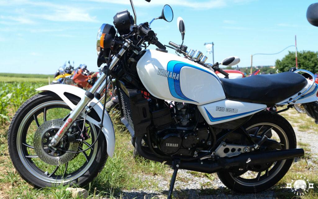 Die Yamaha RD 350 LC debütierte 1980