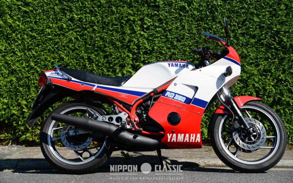Die Yamaha RD 350 LC YPVS war noch leistungsstärker