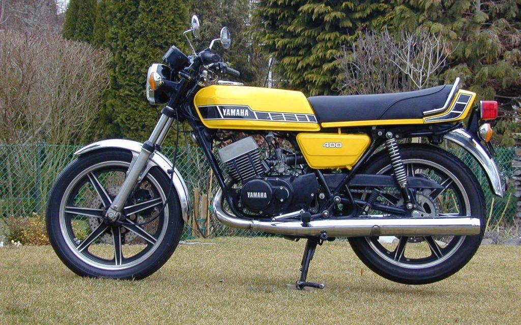 Yamaha RD 400 restaurieren