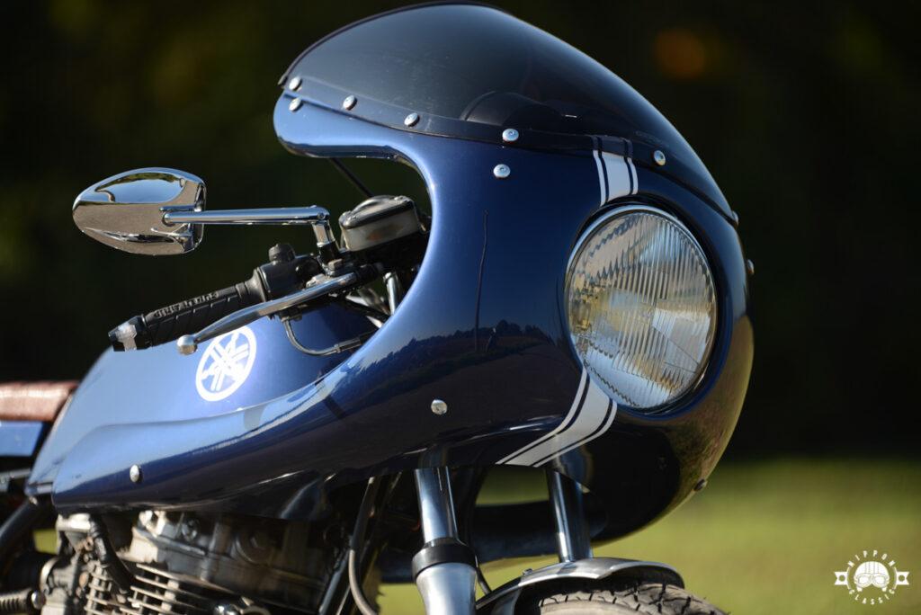 Die Verkleidung stammt aus dem Zubehörhandel und ist der Ducati 750SS nachempfunden