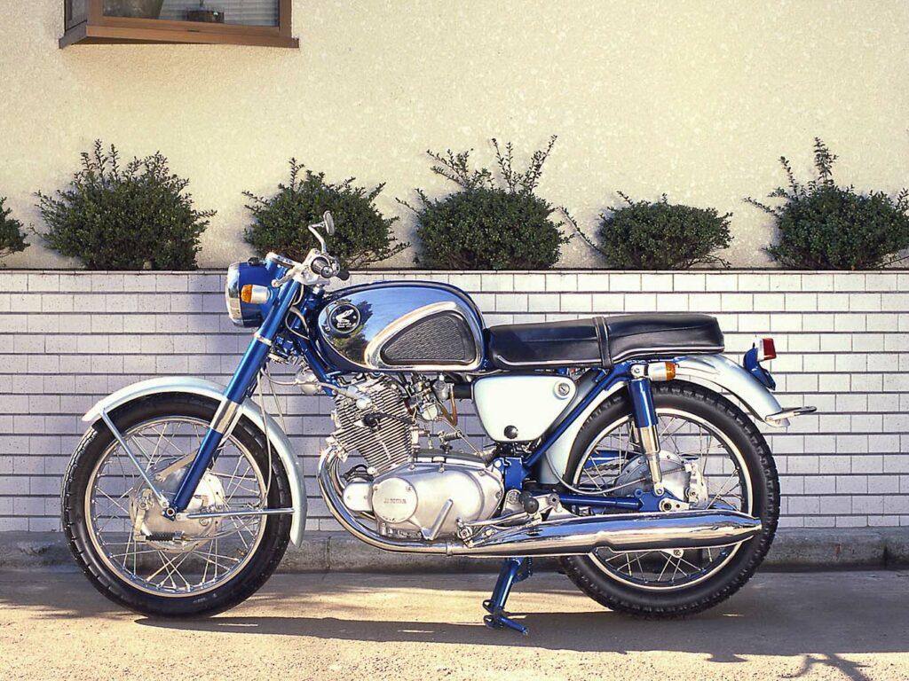 Honda CB 72 von 1960