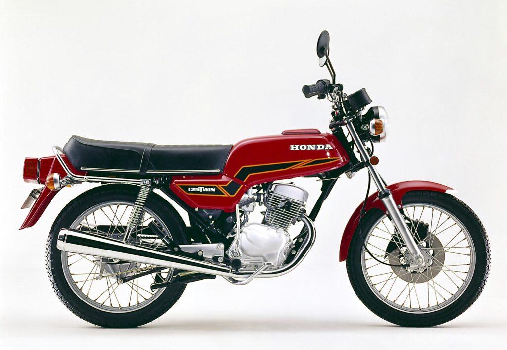 Gut zu erkennen: das Euro-Line Design der Honda CB 125 T