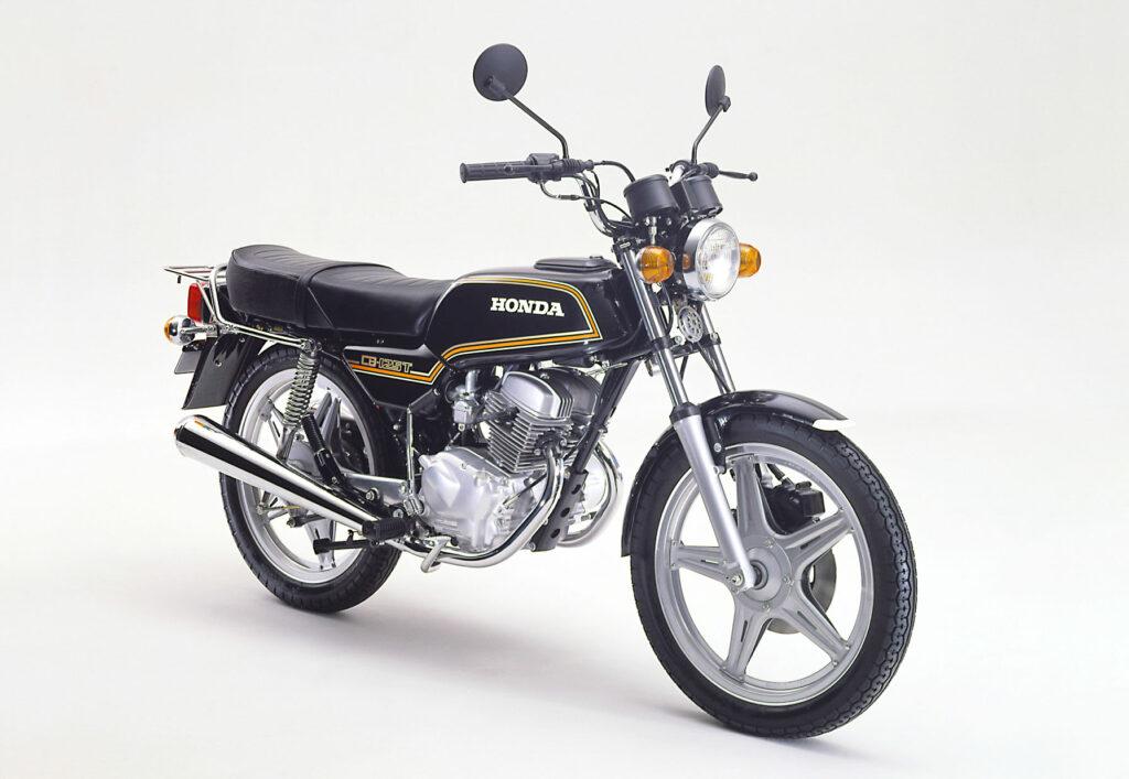 Honda CB 125 T mit Comstarfelgen aus dem Jahr 1979