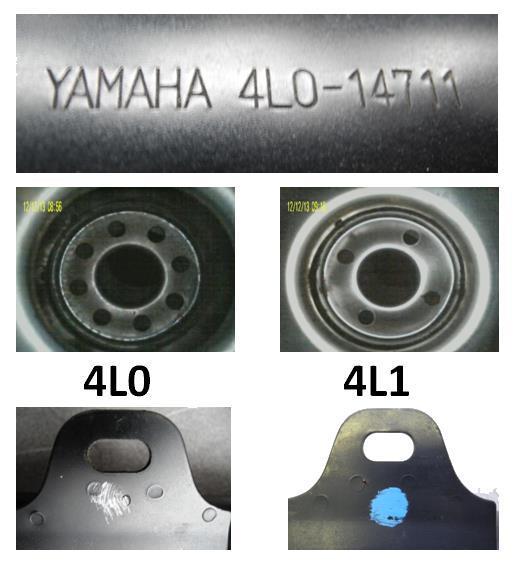 Yamaha RD LC Auspuff