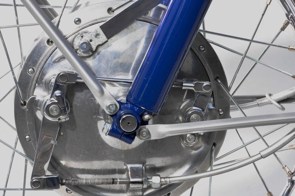 Die CB 72 hatte eine wirkungsvolle Duplex-Bremse