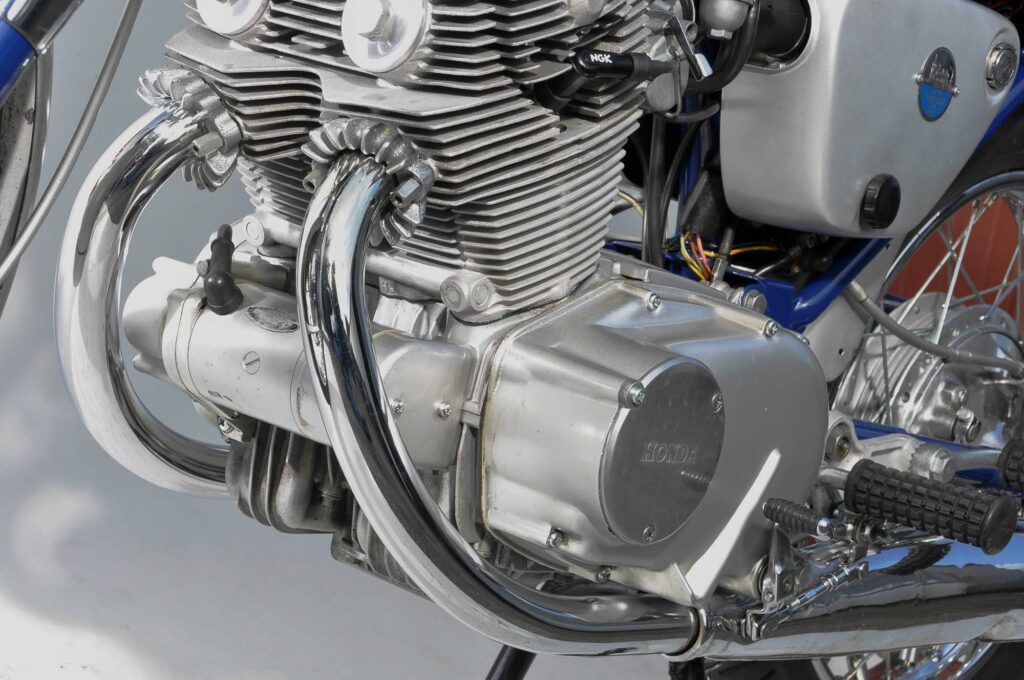 Parallel-Twin der Honda CB 72