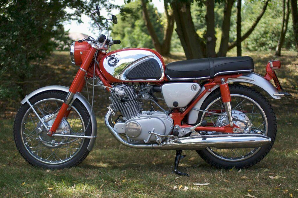 Die Honda CB72 ist selten und bleibt gesucht