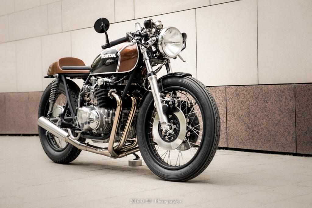 """Honda CB 500 Cafe Racer von """"12 Finger Louis"""""""