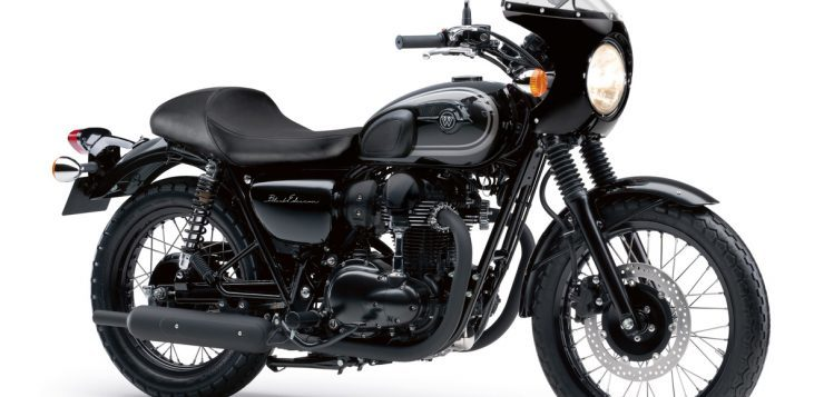 Kawasaki W800 Black Edition