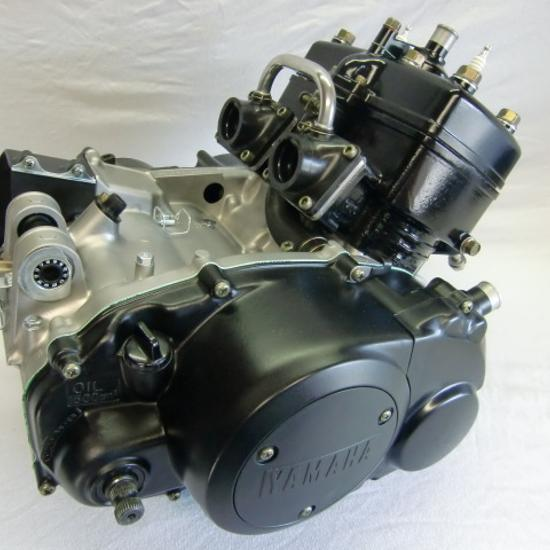 Motor der Yamaha RD 350 LC