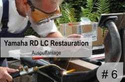 Yamaha RD 350 LC Restauration
