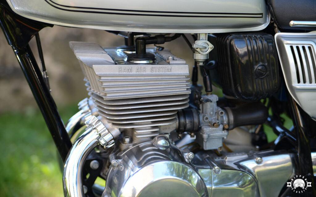 Das Ram Air System trugen alle GT-Modelle von Suzuki