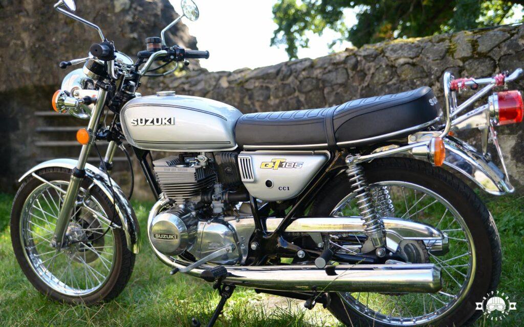 Die Suzuki GT 185 war besonders für Neueinsteiger interessant