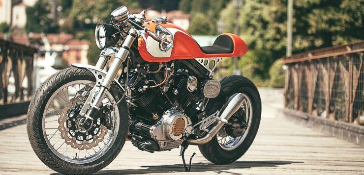 Yamaha XV 750 The Orange