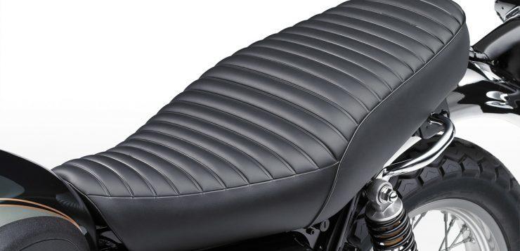 Unverkennbar: Das W-Styling der Retro-Kawasaki