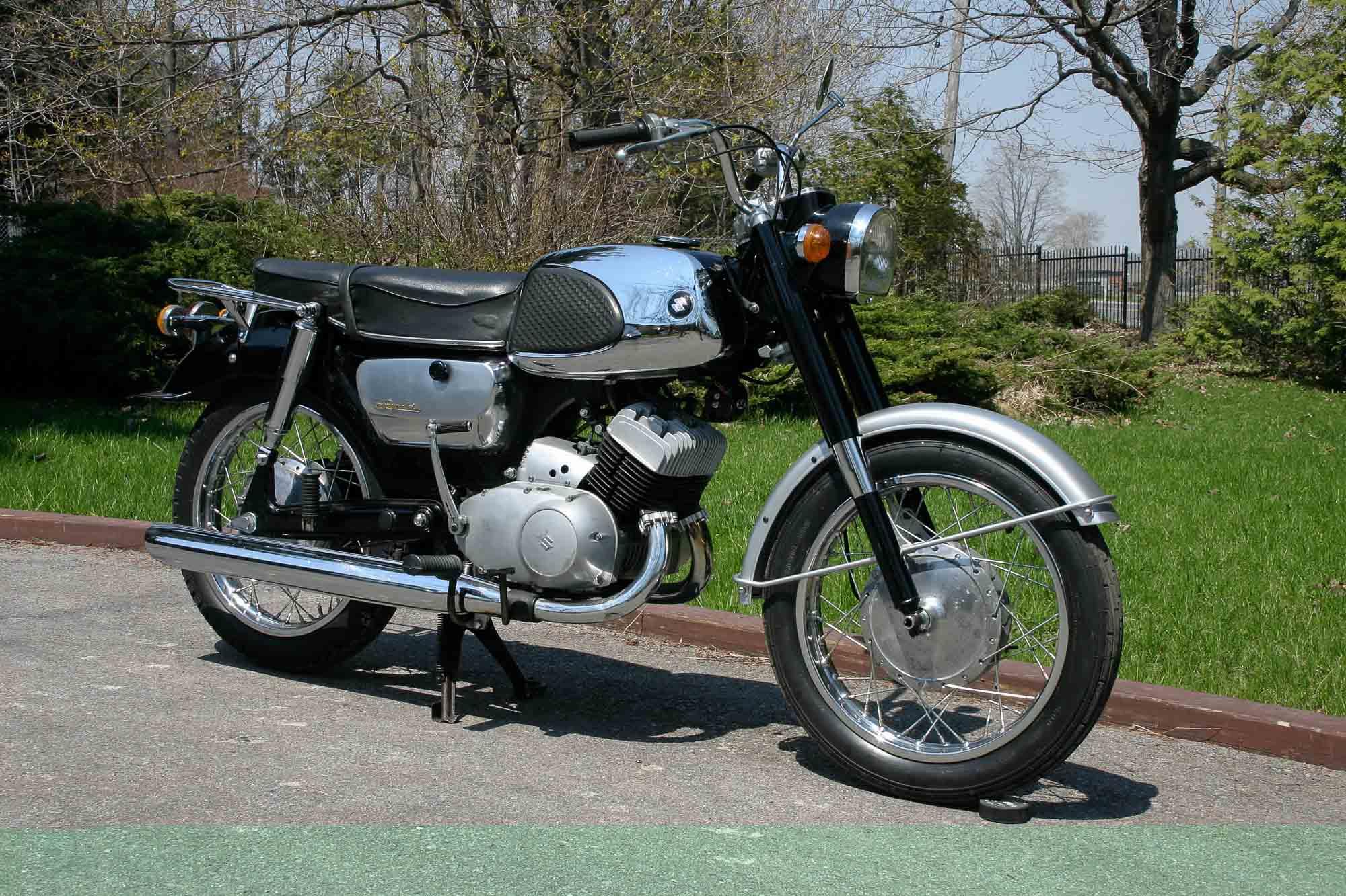Die Suzuki T10 von 1963