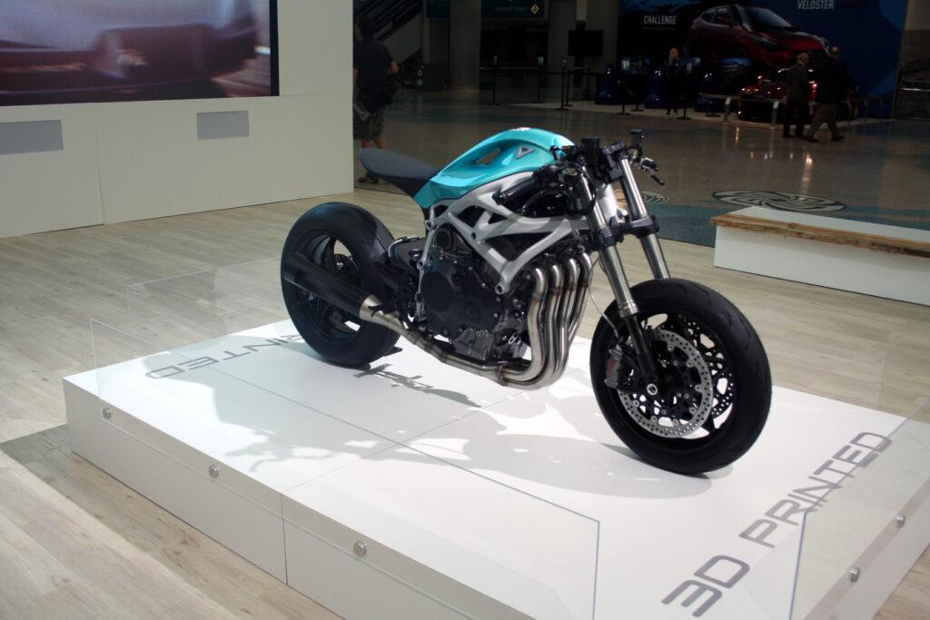 Das Superbike aus dem Drucker: Dagger von Divergent 3D