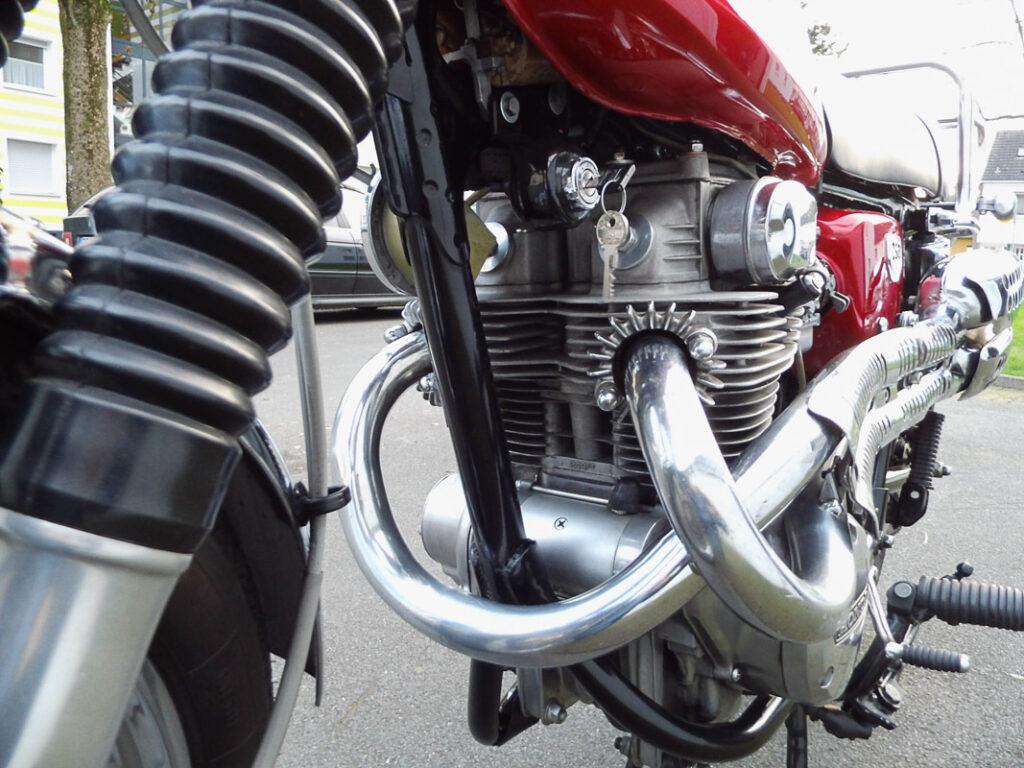 Der Motor der CL 250 verlangte nach Drehzahlen