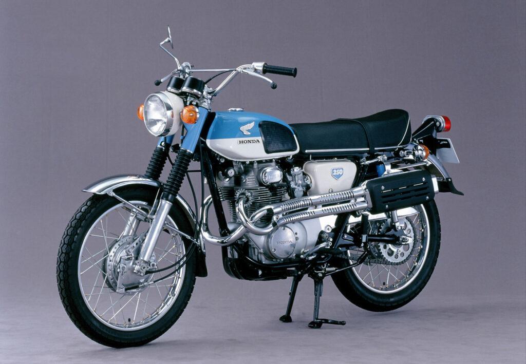 Honda CL 250 schloss 1968 die zeitliche Lücke zur CL 72