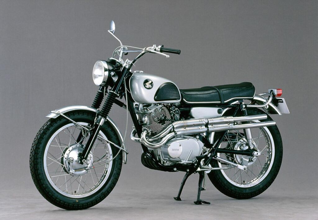 Kult pur - Honda CL 72 Scrambler aus dem Jahr 1962